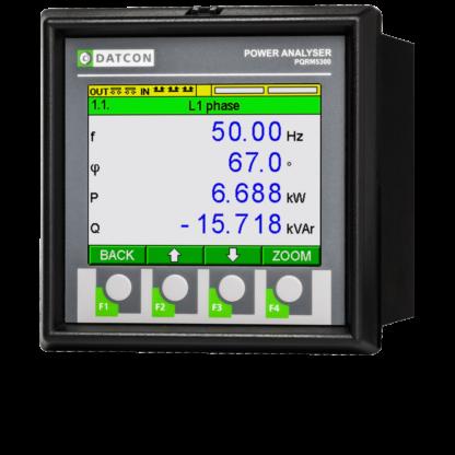 PQRM5300 hálózatanalizátor