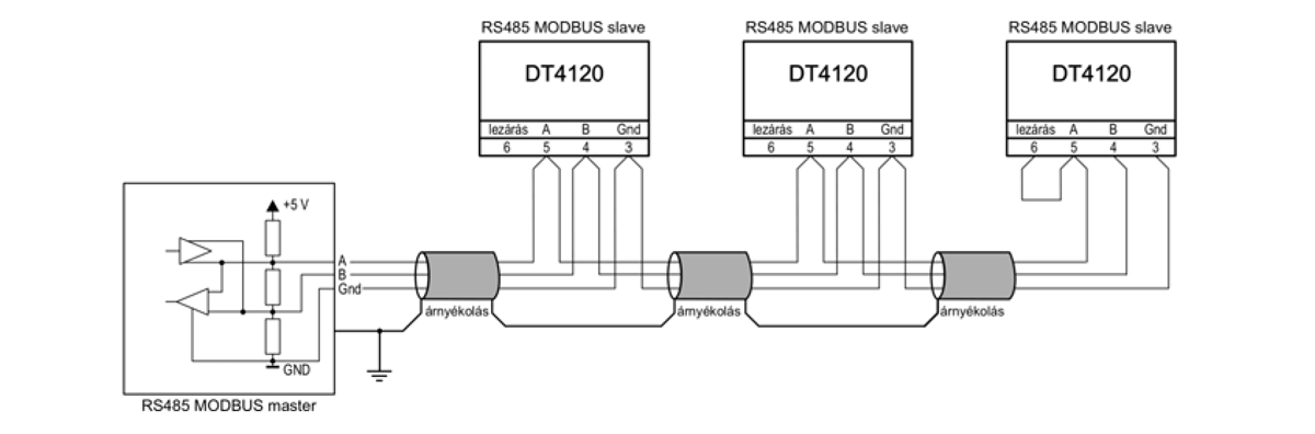 DT4120 Hőmérsékletmérő alkalmazástechnikai ábra4