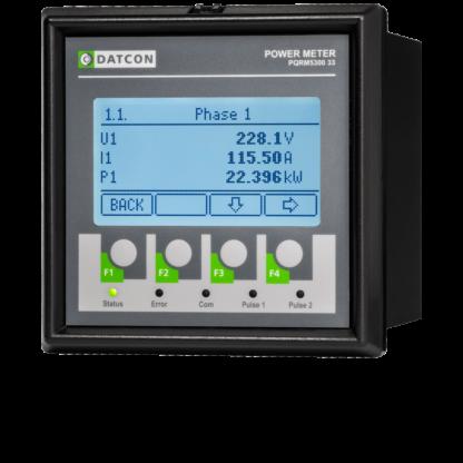 PQRM5300 33 háromfázisú multifunkciós teljesítménymérők